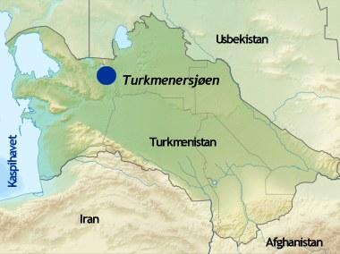 Kureren Turkmenistan Skal Anlegge Enorm Kunstig Sjo I Orkenen