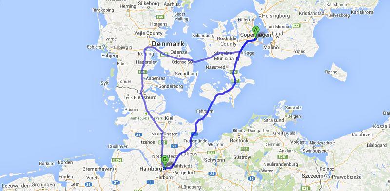 kart over danmark og tyskland Kureren   Mot avgjørelse om tunnel mellom Danmark og Tyskland kart over danmark og tyskland